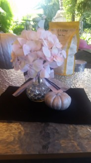 Making the first centerpiece
